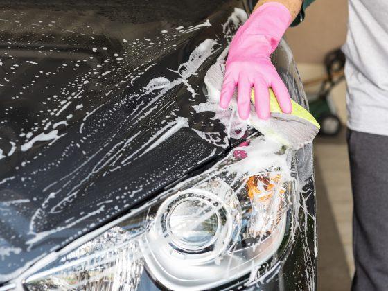 Het best de auto wassen