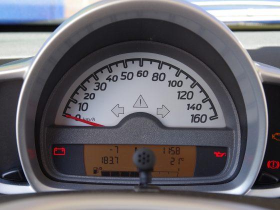 Te weinig motorolie symbol dashboard